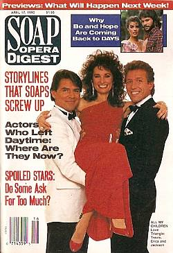 Soap Opera Digest April 17, 1990