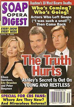 Soap Opera Digest - April 18, 2000