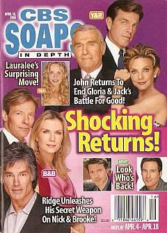 CBS Soaps In Depth April 18, 2006