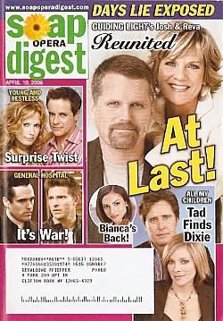 Soap Opera Digest April 18, 2006
