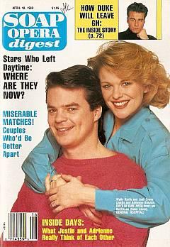 Soap Opera Digest April 18, 1989