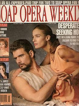 Soap Opera Weekly April 18, 1995