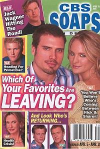 CBS Soaps In Depth April 19, 2005