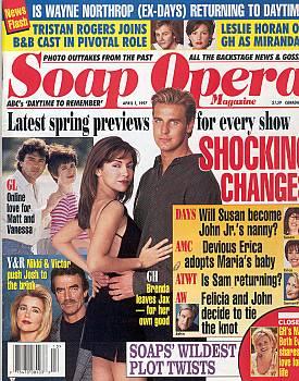 Soap Opera Magazine April 1, 1997