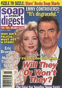 Soap Opera Digest April 2, 2002
