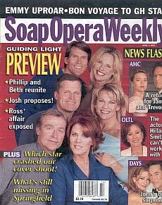 Soap Opera Weekly April 2, 2002
