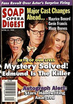 Soap Opera Digest - April 21, 1998