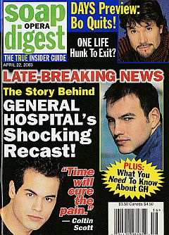 Soap Opera Digest April 22, 2003