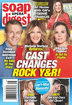 Soap Opera Digest April 22, 2019