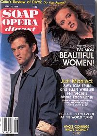 Soap Opera Digest April 22, 1986
