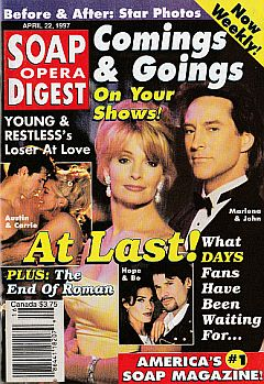 Soap Opera Digest -  April 22, 1997