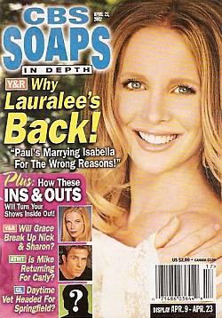 CBS Soaps In Depth April 23, 2002