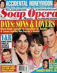 Soap Opera Magazine April 23, 1996