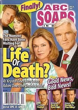 ABC Soaps In Depth April 24, 2007