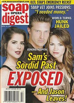Soap Opera Digest April 24, 2007