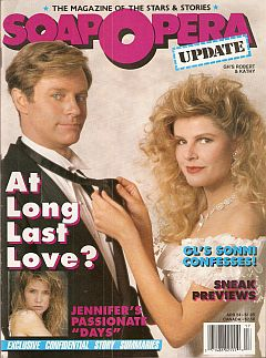 April 24, 1989 issue of Soap Opera Update magazine