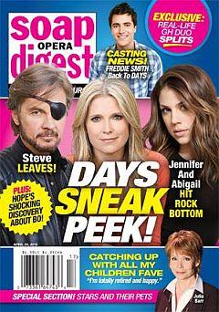 Soap Opera Digest April 25, 2016