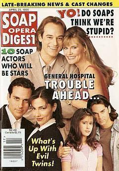 Soap Opera Digest -  April 25, 1995