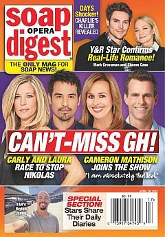 Soap Opera Digest April 26, 2021