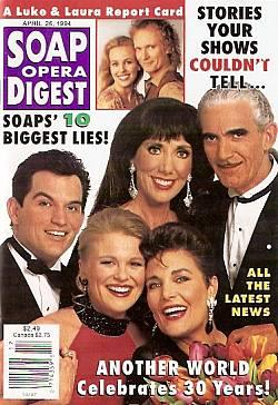 Soap Opera Digest - April 26, 1994