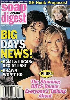 Soap Opera Digest April 27, 2004