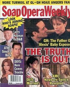 Soap Opera Weekly April 27, 2004