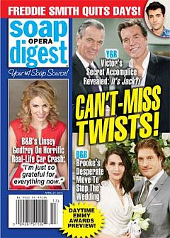 Soap Opera Digest April 27, 2015