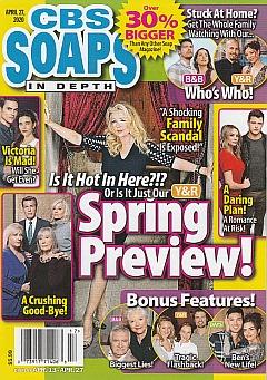 CBS Soaps In Depth April 27, 2020