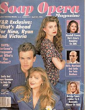 Soap Opera Magazine April 27, 1993