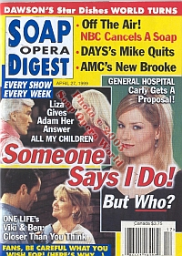 Soap Opera Digest - April 27, 1999