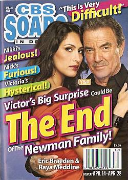CBS Soaps In Depth April 28, 2008