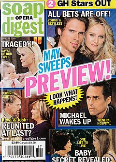 Soap Opera Digest April 28, 2009