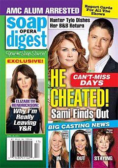 Soap Opera Digest April 28, 2014