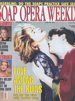 Soap Opera Weekly April 28, 1992