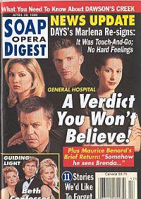 Soap Opera Digest - April 28, 1998