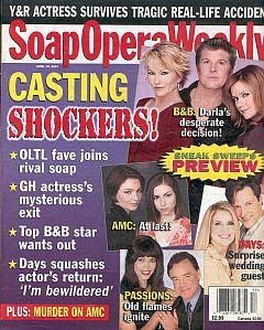 Soap Opera Weekly April 29, 2003