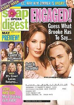 Soap Opera Digest April 29, 2008