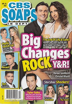 CBS Soaps In Depth April 29, 2019
