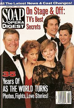 Soap Opera Digest April 2, 1991