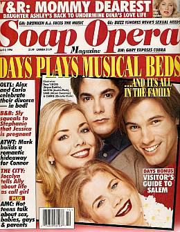 Soap Opera Magazine April 2, 1996