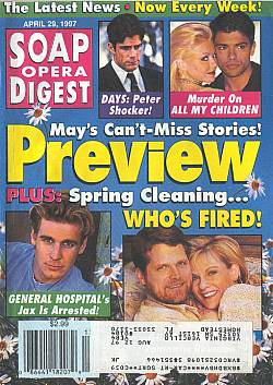 Soap Opera Digest - April 29, 1997