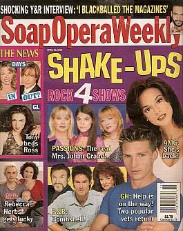 Soap Opera Weekly April 30, 2002