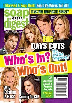 Soap Opera Digest April 30, 2012
