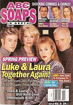 ABC Soaps In Depth April 3, 2001