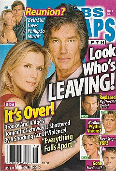 CBS Soaps In Depth April 3, 2007