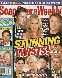 Soap Opera Weekly April 3, 2007