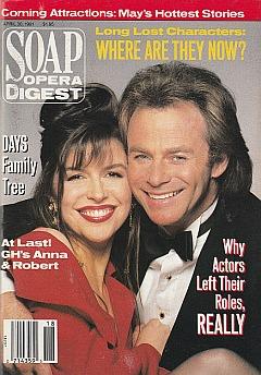 Soap Opera Digest April 30, 1991