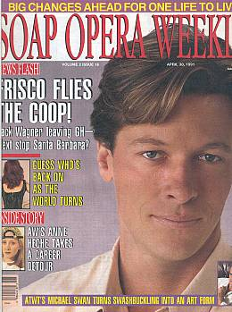Soap Opera Weekly April 30, 1991