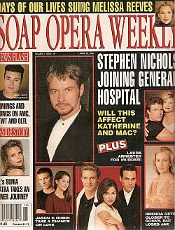 Soap Opera Weekly April 30, 1996