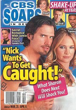 CBS Soaps In Depth April 4, 2006